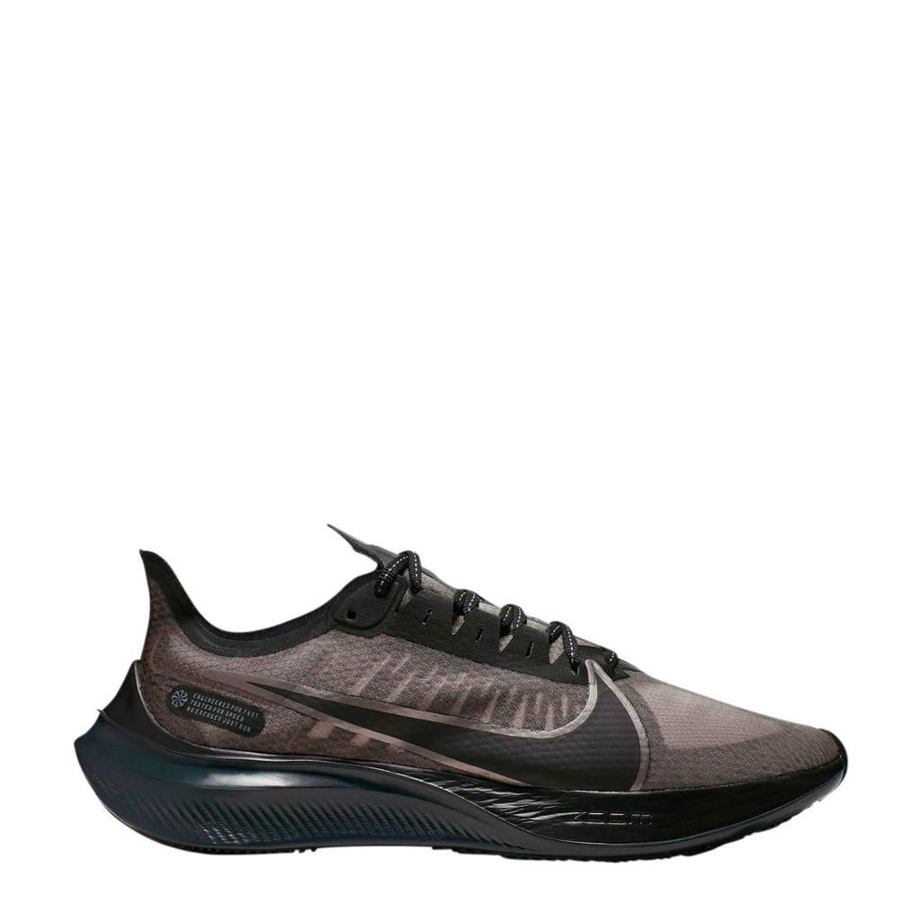 Nike Zoom Gravity   hardloopschoenen zwart/antraciet, Zwart/antraciet