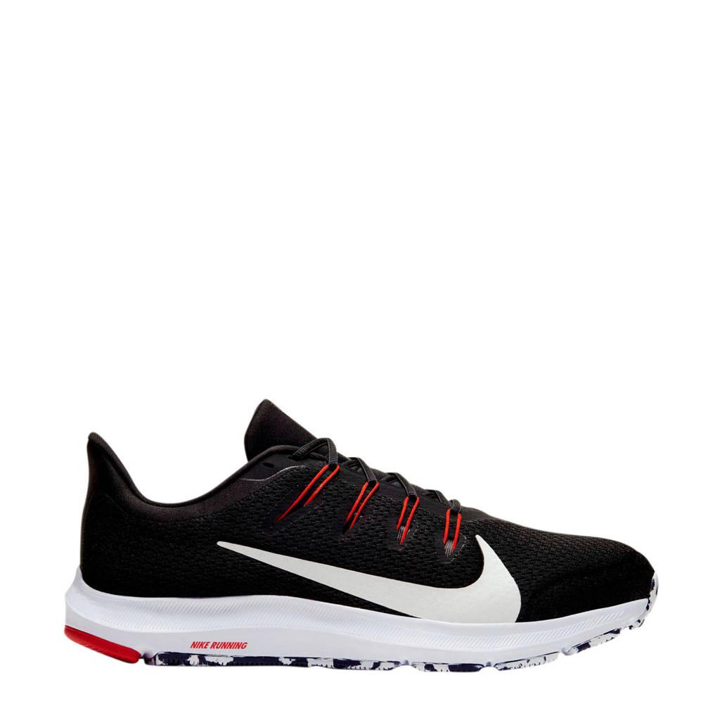 Nike Quest 2  hardloopschoenen zwart/wit/antraciet, Zwart/wit/antraciet