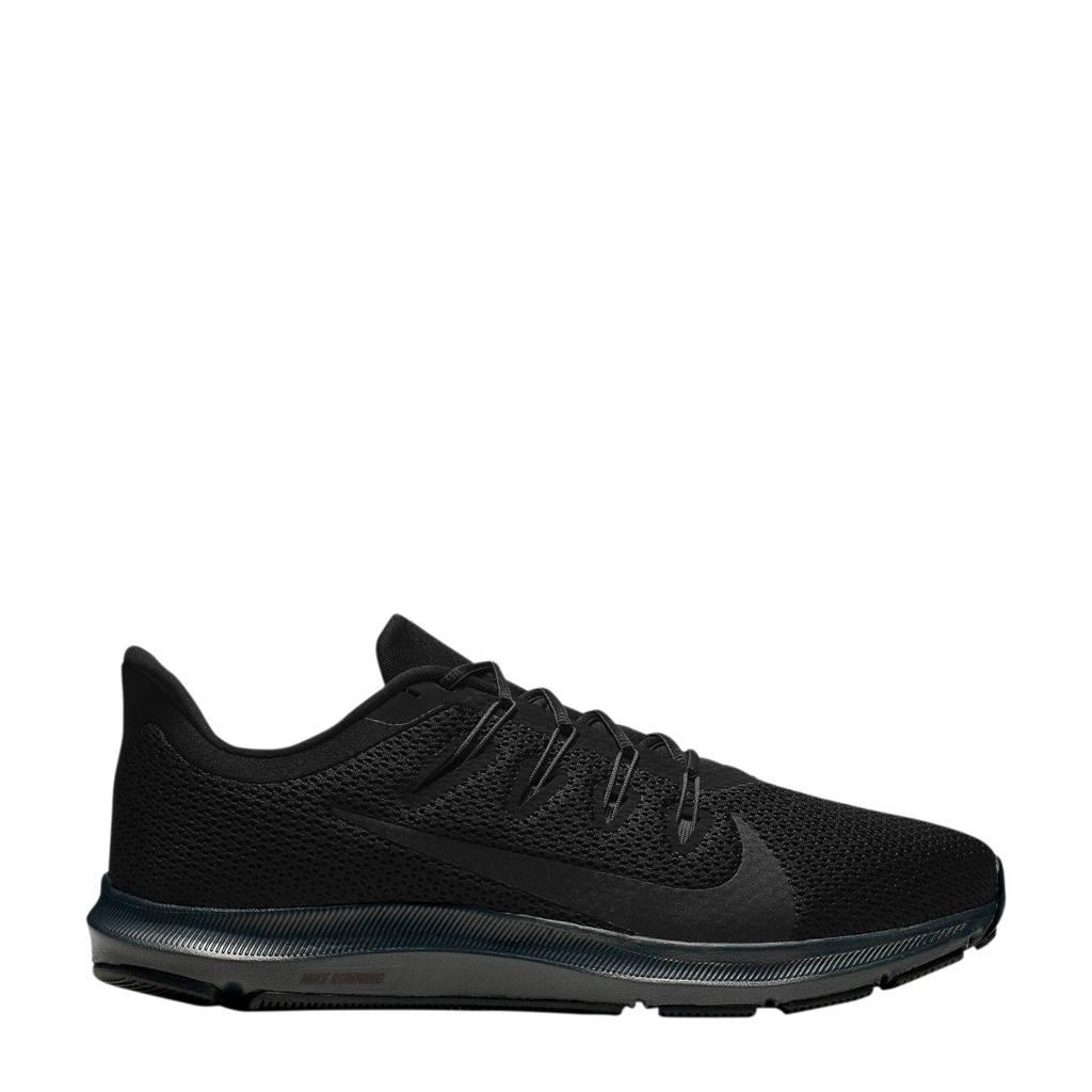 Nike Quest 2  hardloopschoenen zwart, Zwart