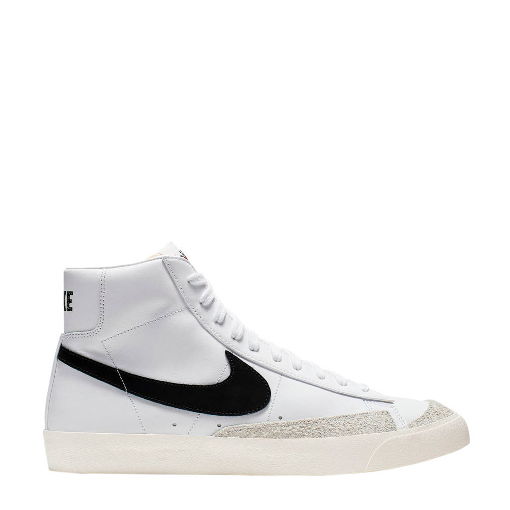 Nike Blazer Mid '77 Vintage sneakers wit/zwart, Wit/zwart
