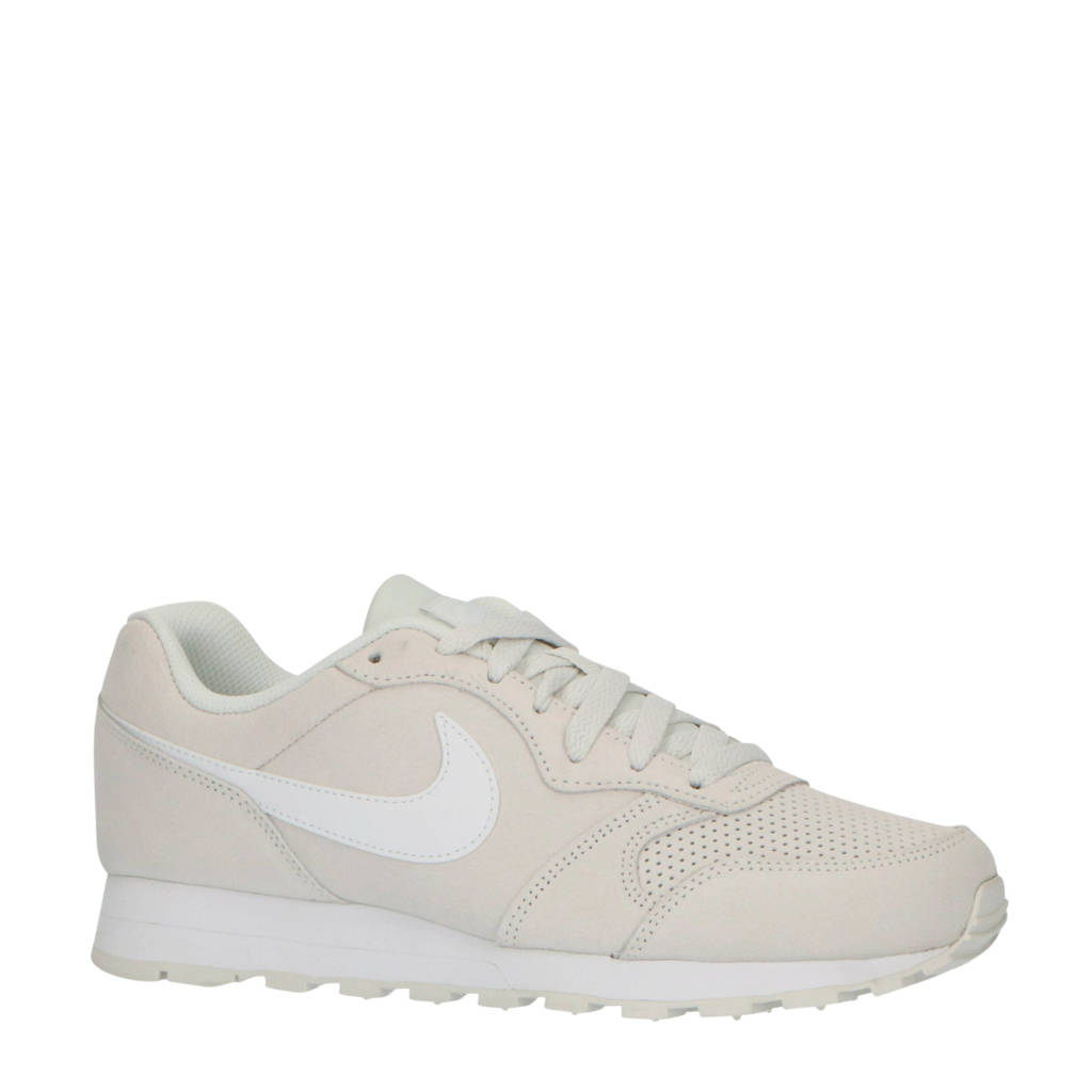 Nike MD Runner 2 suède sneakers off white, Off White