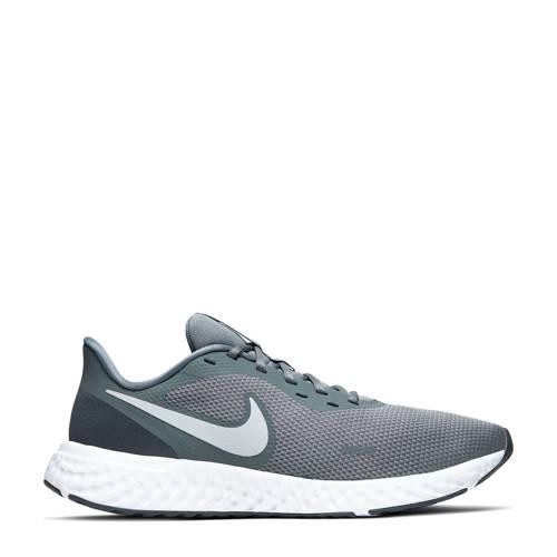 Nike Revolution 5 hardloopschoenen grijs/antraciet