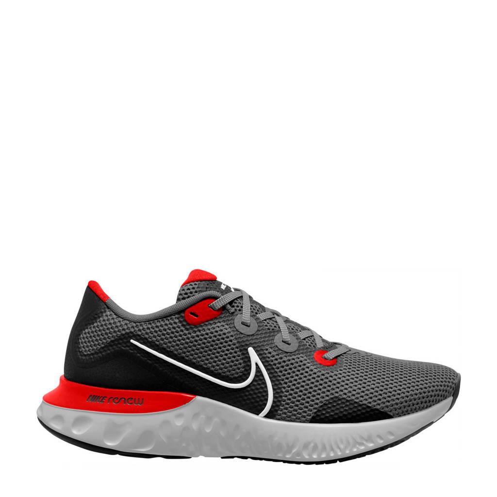 Nike Renew Run  hardloopschoenen zwart/rood, Zwart/rood