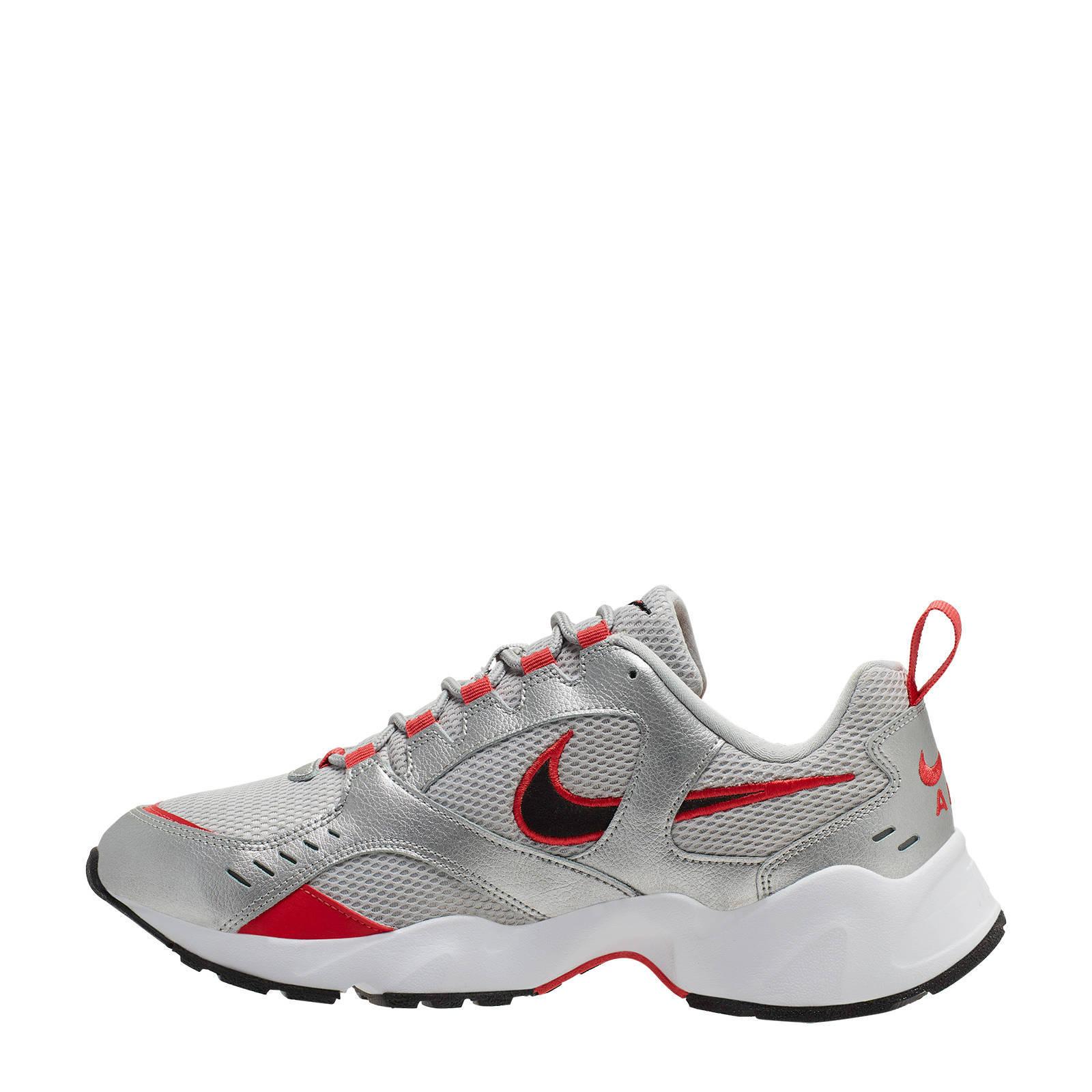 Nike Air Heights sneakers zilverrood | wehkamp