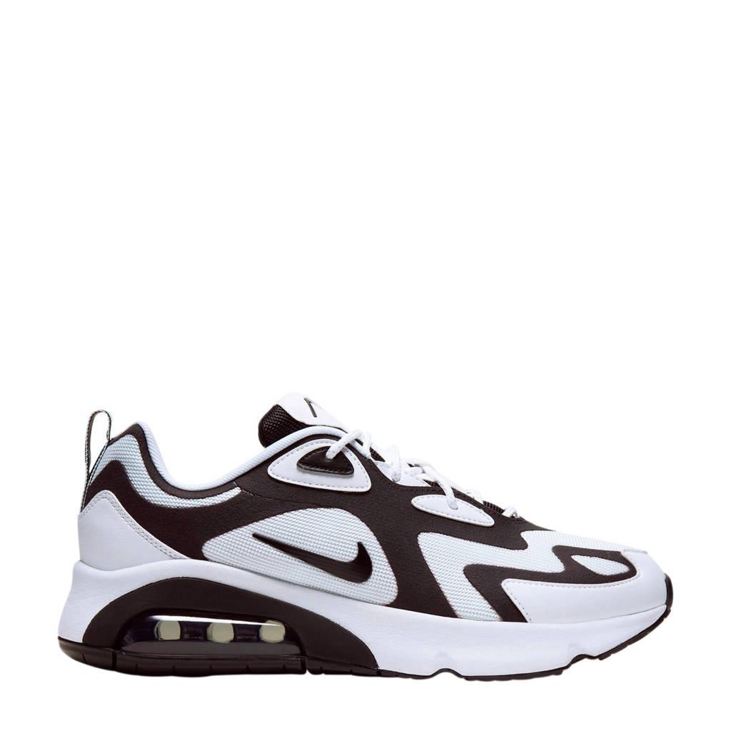 Nike Air Max 200 sneakers wit/zwart, Wit/Zwart/