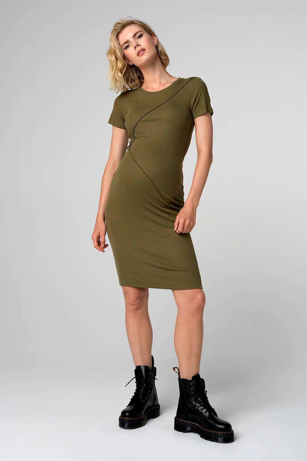 Supermom zwangerschapsjurk groen, Groen