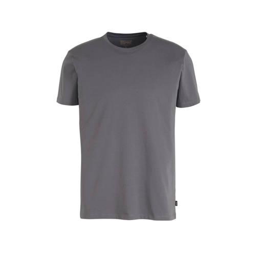 ESPRIT Men Casual T-shirt grijs