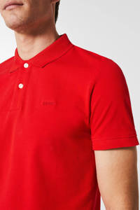 ESPRIT Men Casual slim fit polo rood, Rood