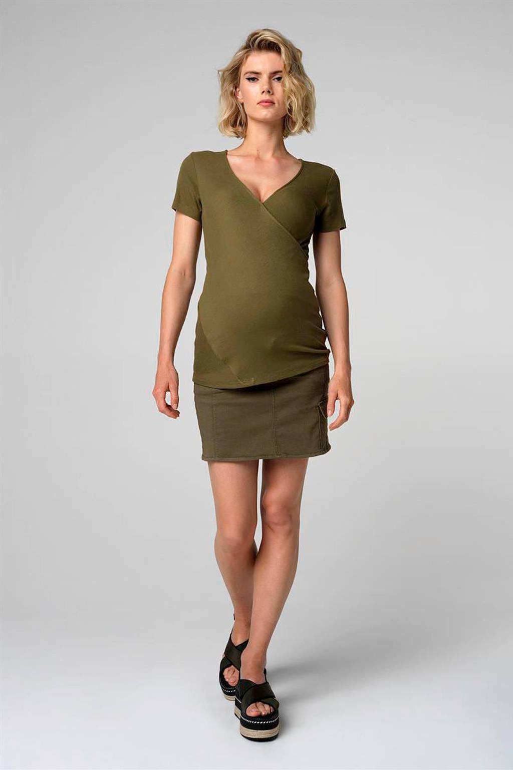 Supermom zwangerschap + voedingstop groen, Groen