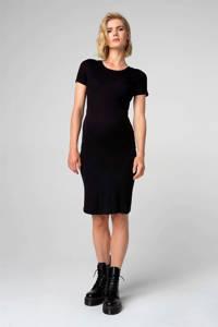 Supermom zwangerschapsjurk zwart, Zwart