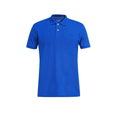 ESPRIT Men Casual regular fit polo blauw