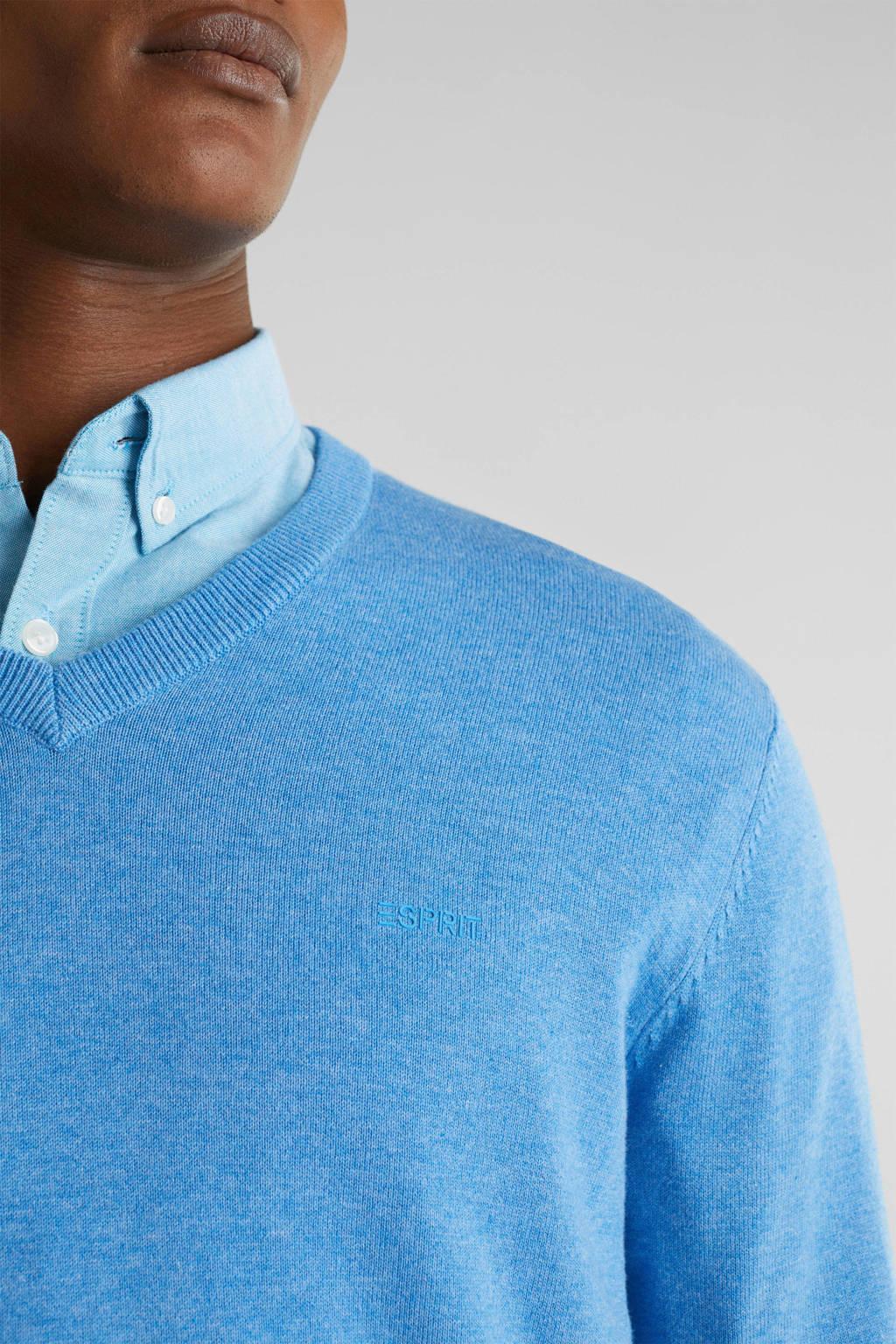 ESPRIT Men Casual sweater bright blue, Bright Blue