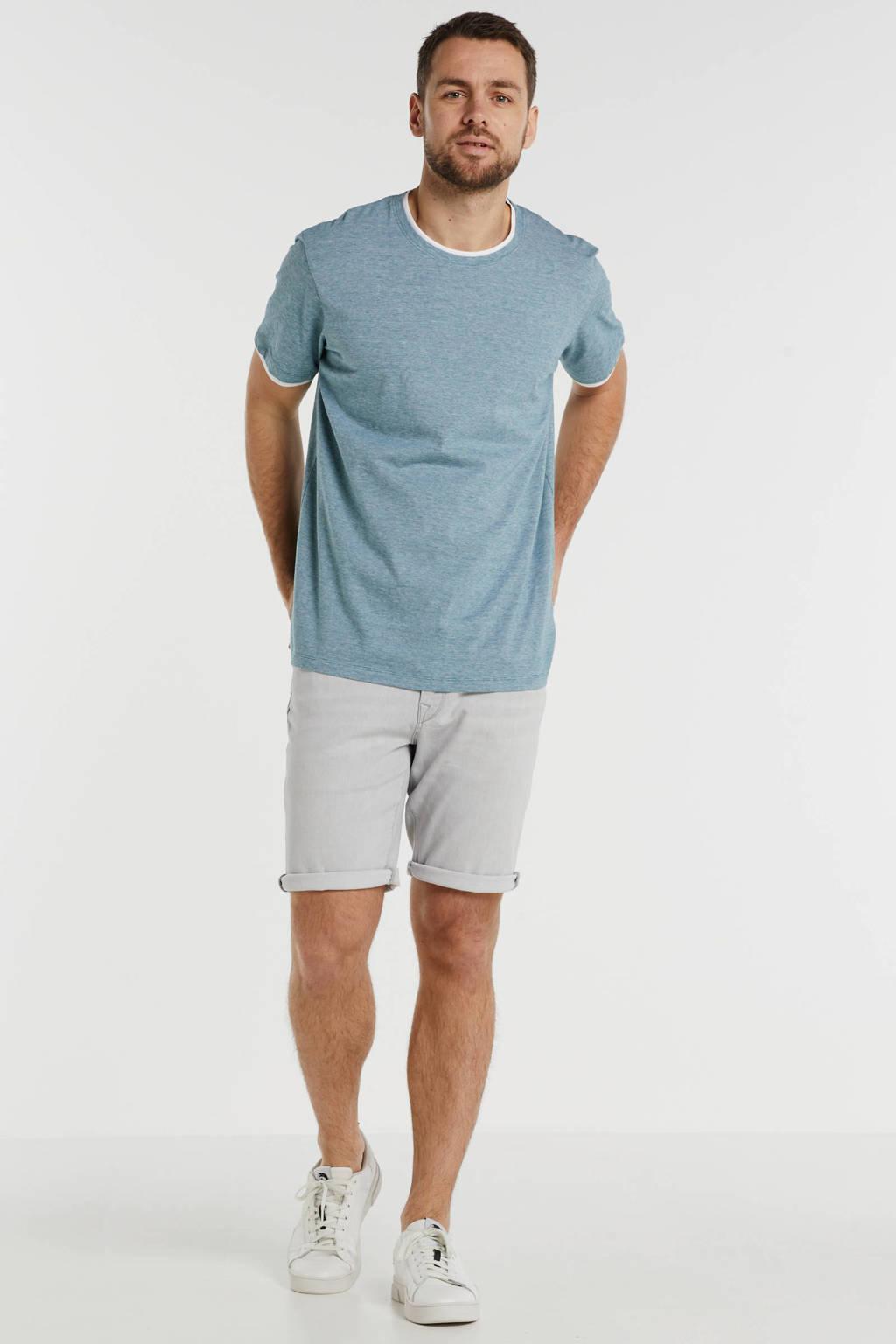 ESPRIT Men Casual T-shirt petrol, Petrol