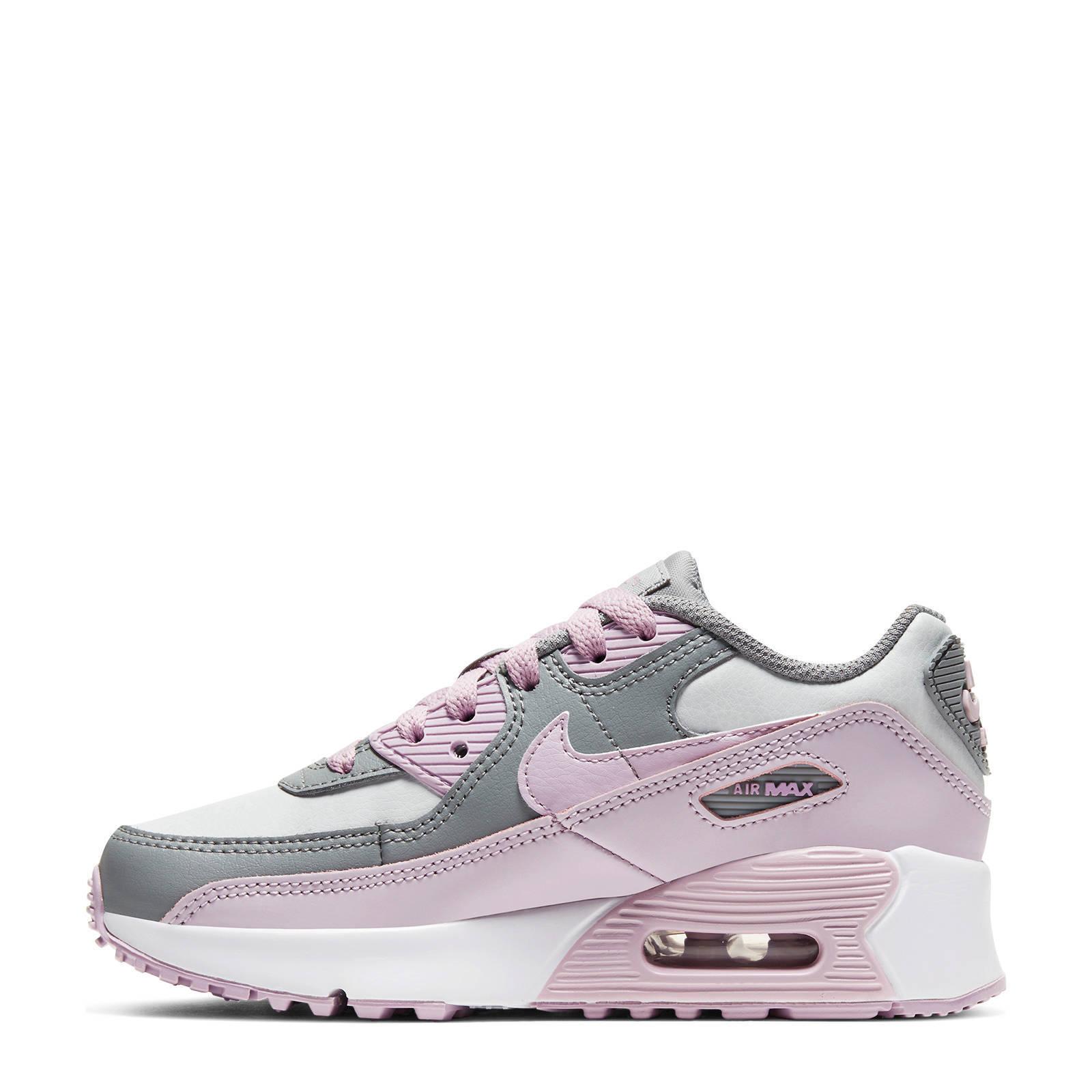 Nike Air Max 90 Ltr sneakers grijslila | wehkamp