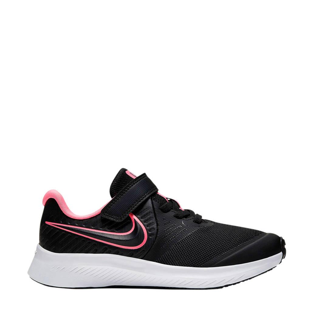 Nike Star Runner 2 (PSV) sneakers zwart/roze, Zwart/roze