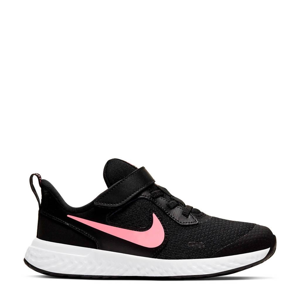 Nike Revolution 5  sneakers zwart/roze, Zwart/roze