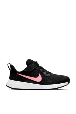 Revolution 5  sneakers zwart/roze