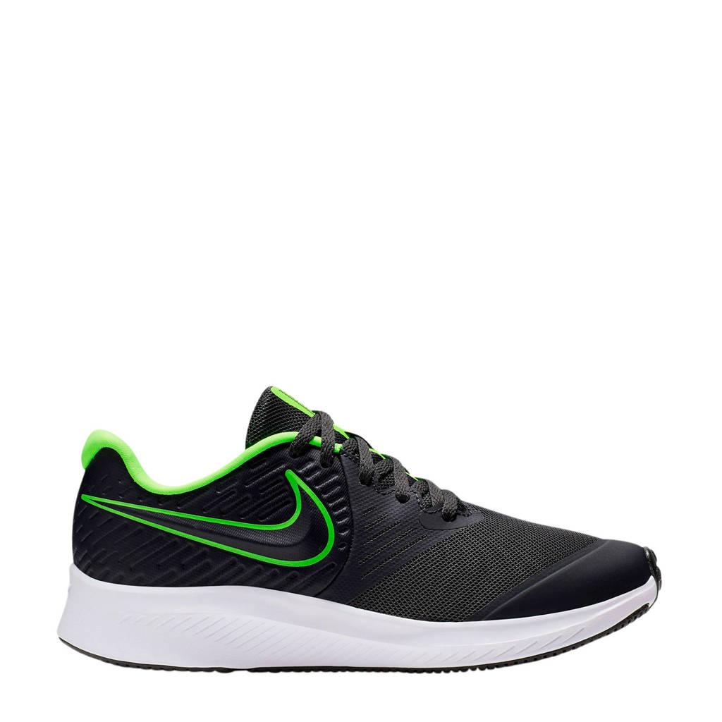 Nike Star Runner 2 (GS) sneakers zwart/limegroen, Zwart/limegroen