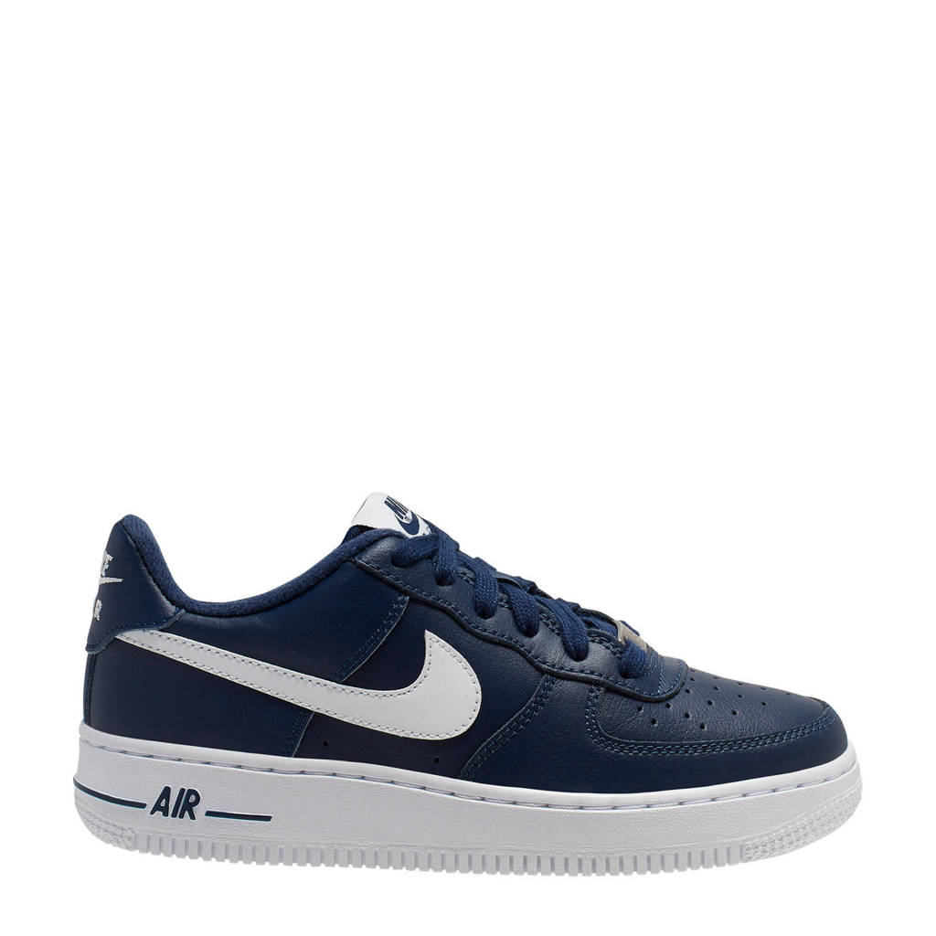 Nike Air Force 1 AN20 (GS) sneakers donkerblauw/wit, Donkerblauw/wit