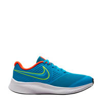 Nike Star Runner 2 (GS) sneakers blauw, Blauw/geel
