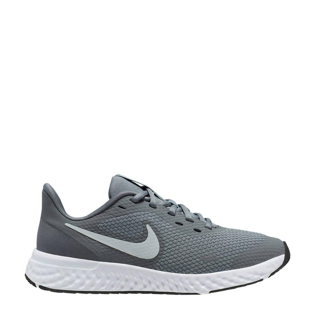 Nike Revolution 5 (GS) sneakers grijs/metalic, Grijs