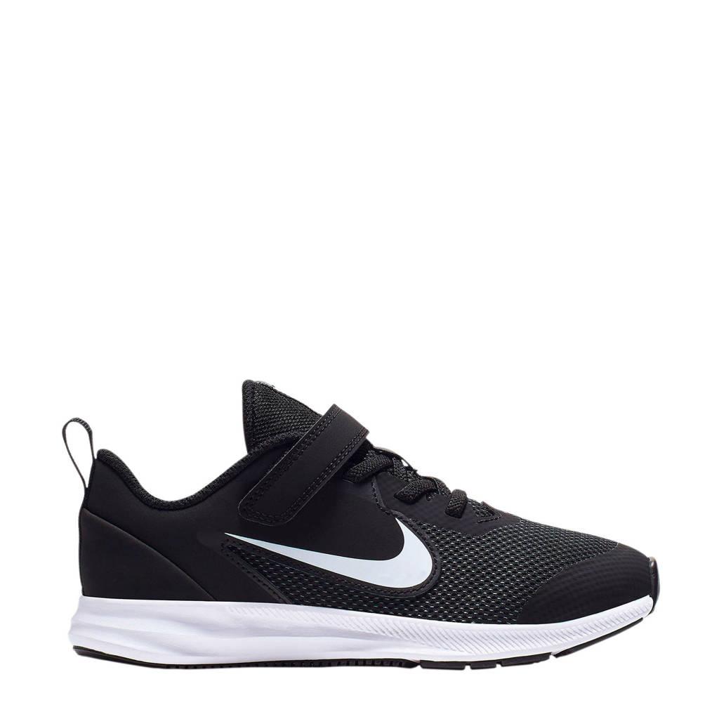 Nike Downshifter 9 (PSV) sneakers zwart/wit, Zwart/wit