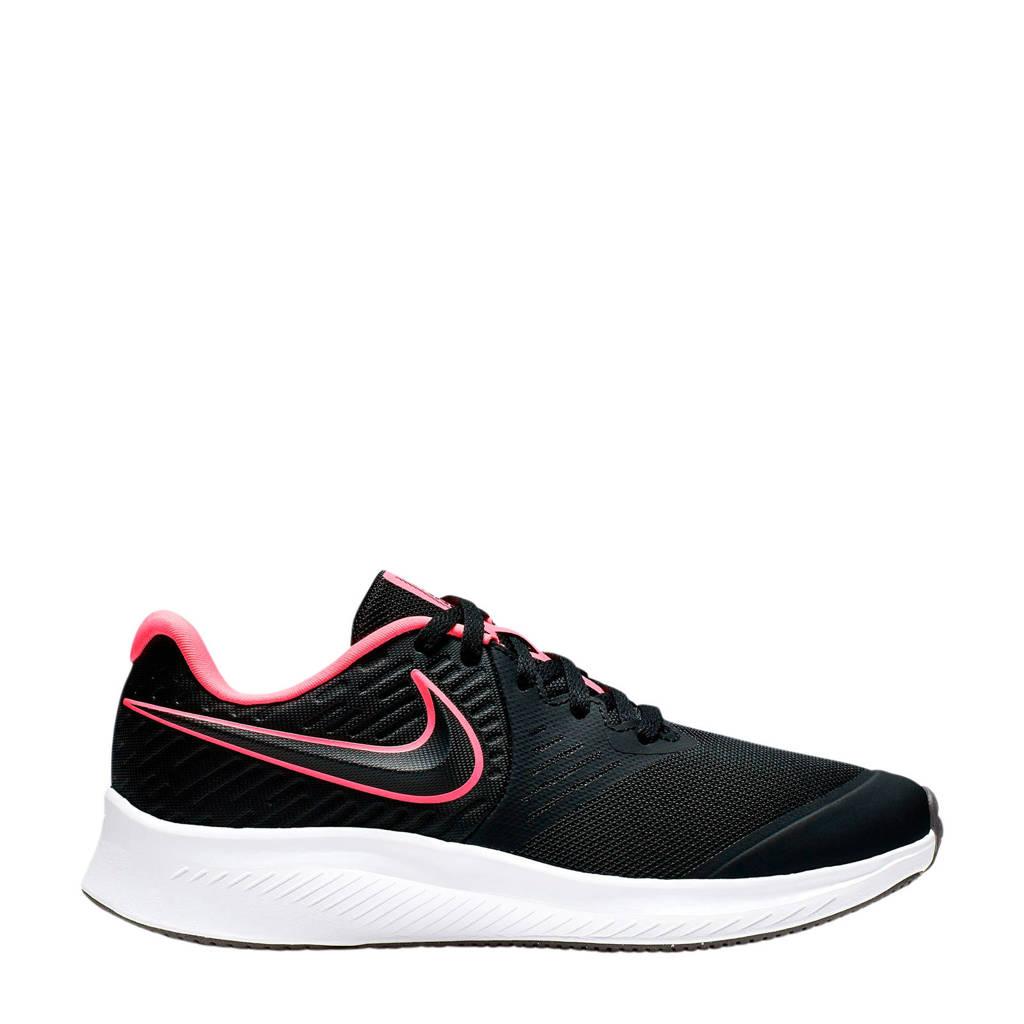 Nike Star Runner 2 (GS) sneakers zwart/roze, Zwart/roze