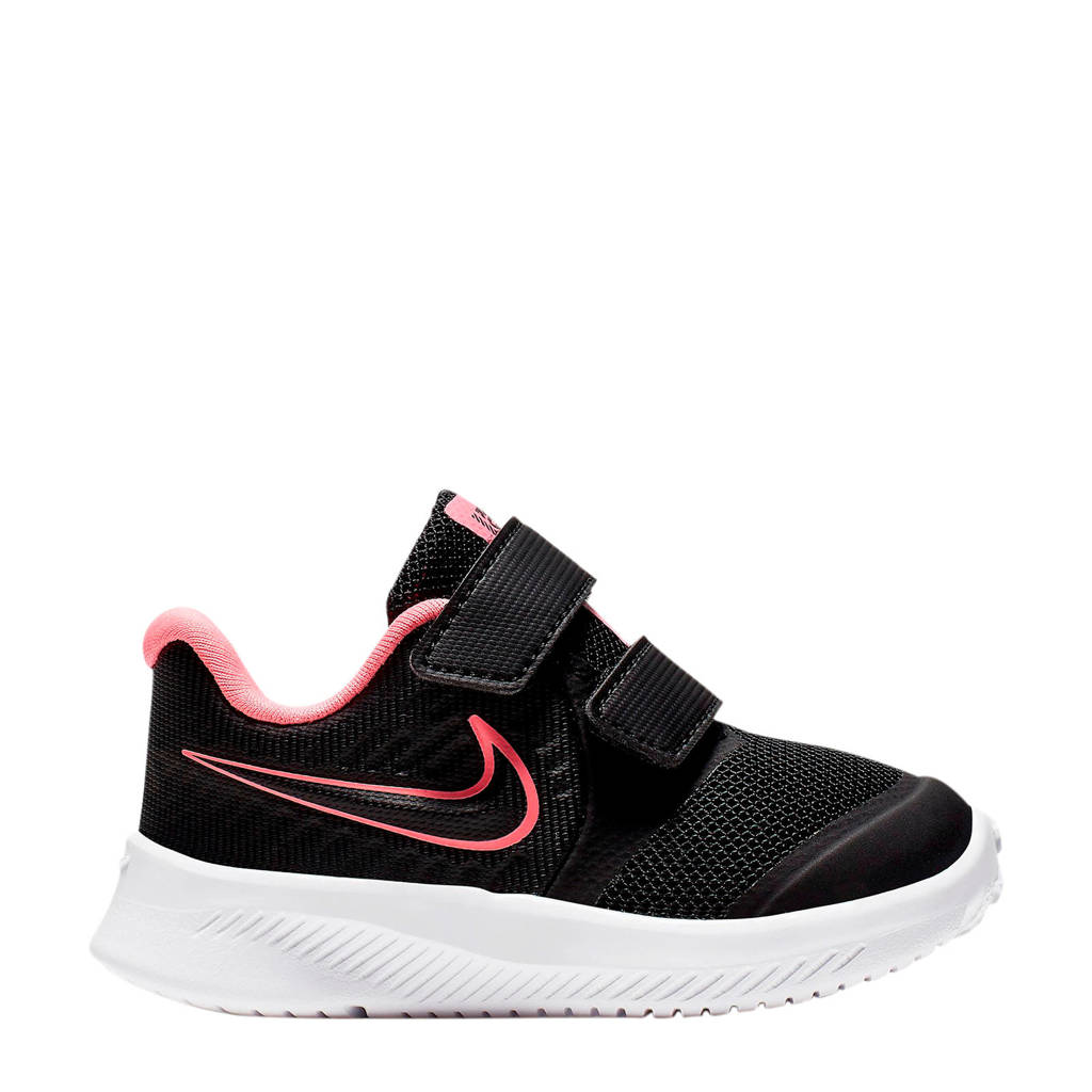 Nike Star Runner 2 (TDV) sneakers zwart/roze, Zwart/roze