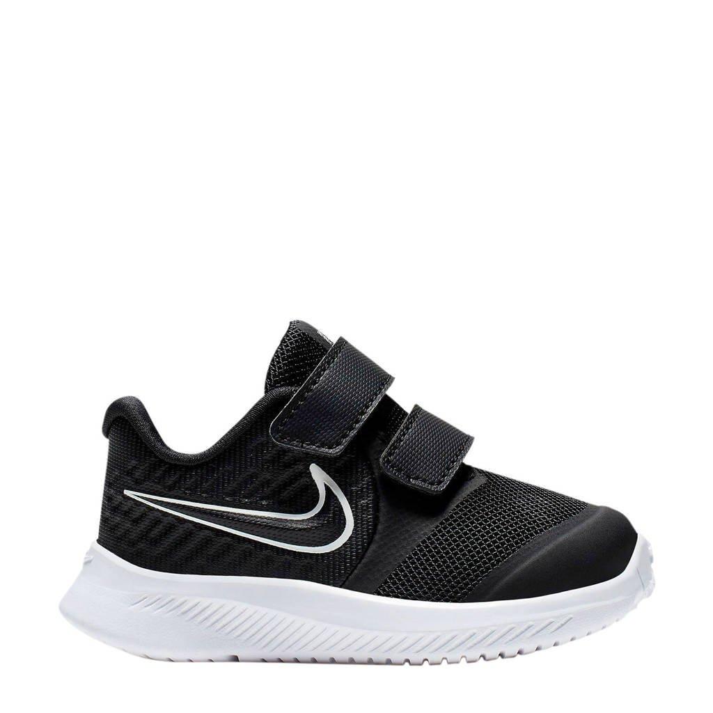 Nike Star Runner 2 (TDV) sneakers zwart/wit, Zwart/wit