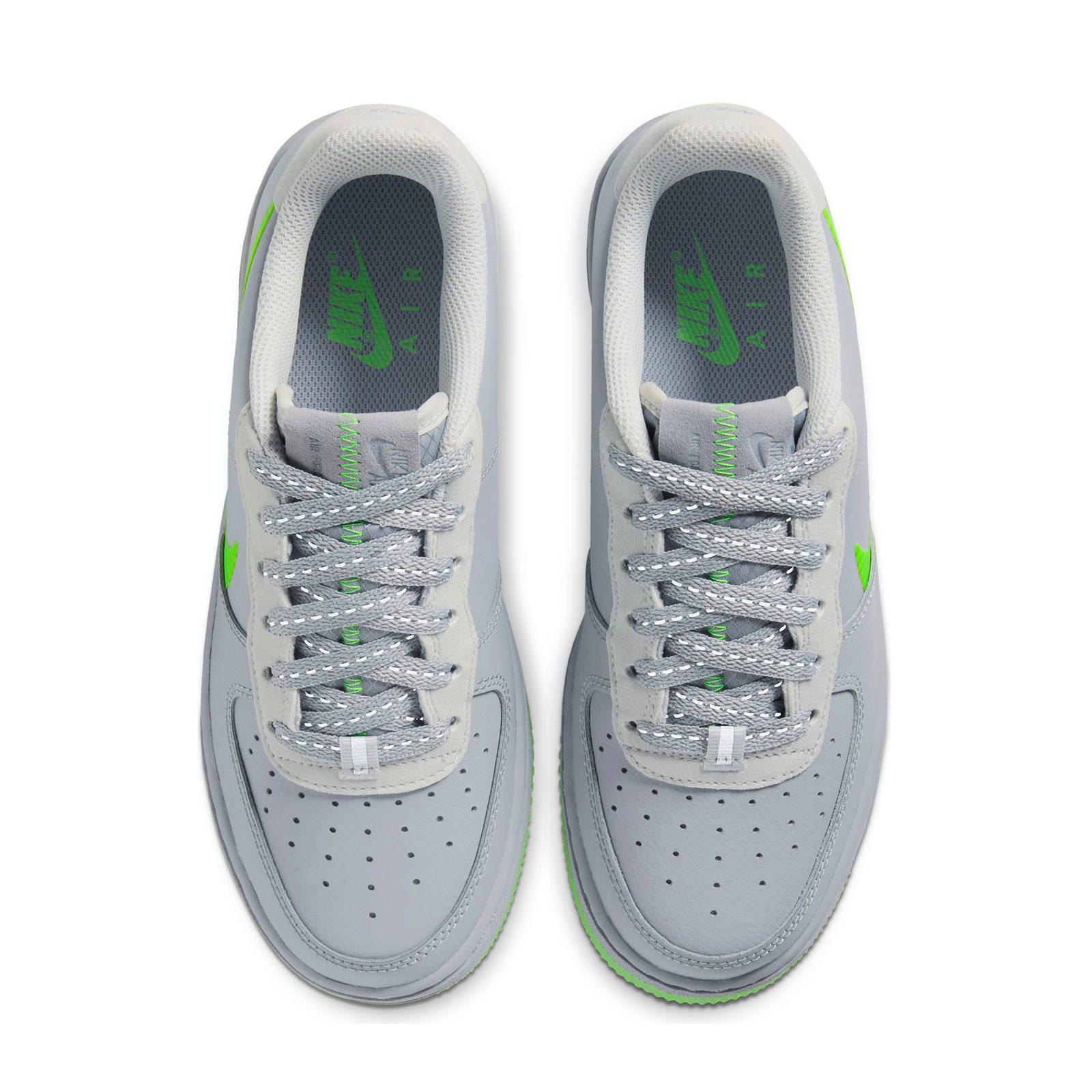 AIR FORCE 1 LV8 3 (GS) sneakers grijsgroen