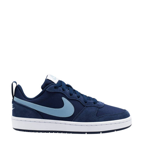 Nike Court Borough Low 2 PE (GS) sneakers blauw/li