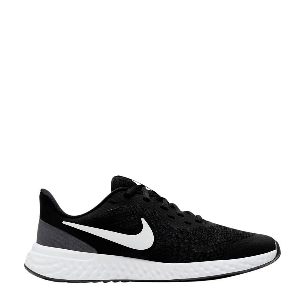 Nike Revolution 5 (GS) sneakers zwart/wit/antraciet, Zwart/wit/antraciet