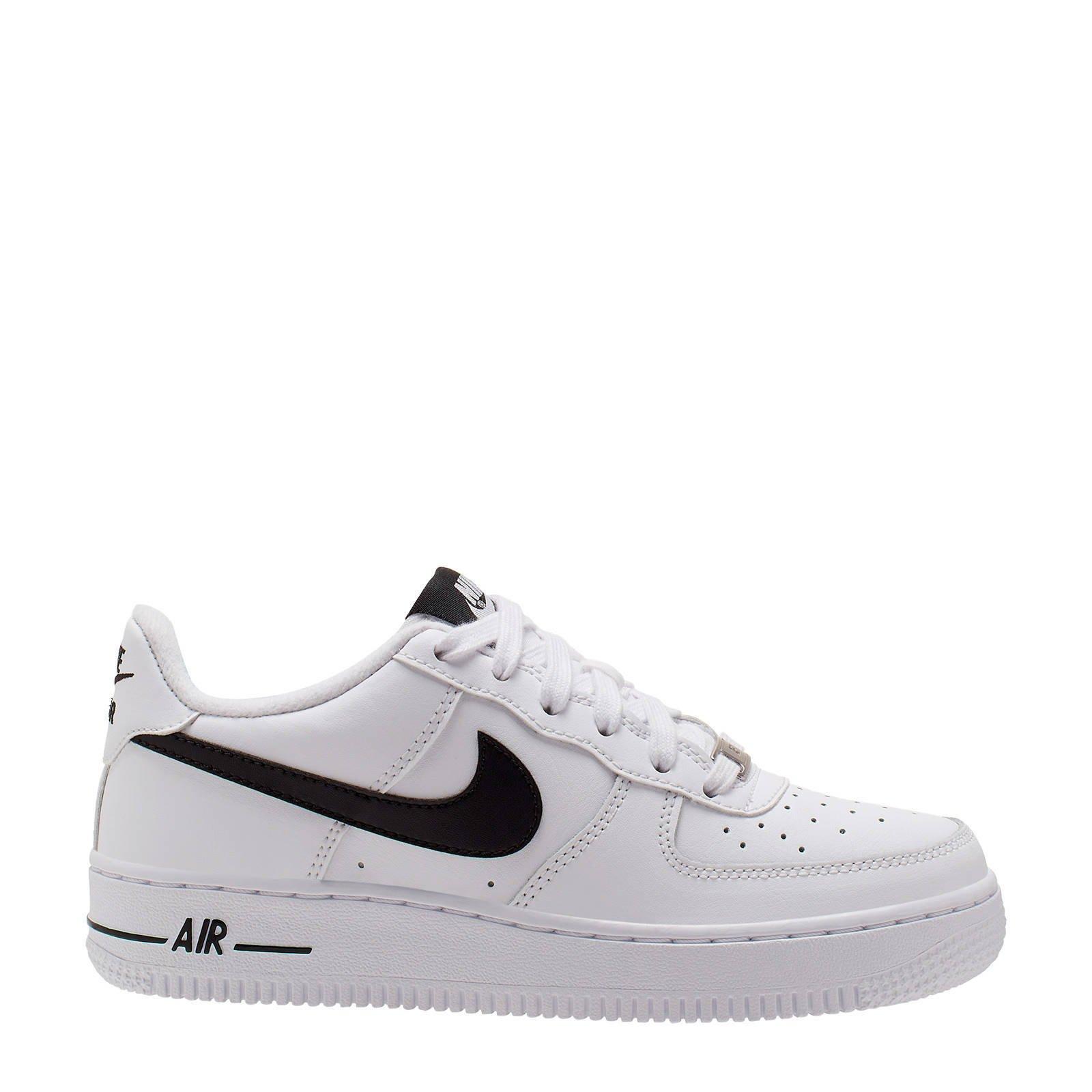Nike Air Force 1 AN20 gs sneakers witzwart | wehkamp
