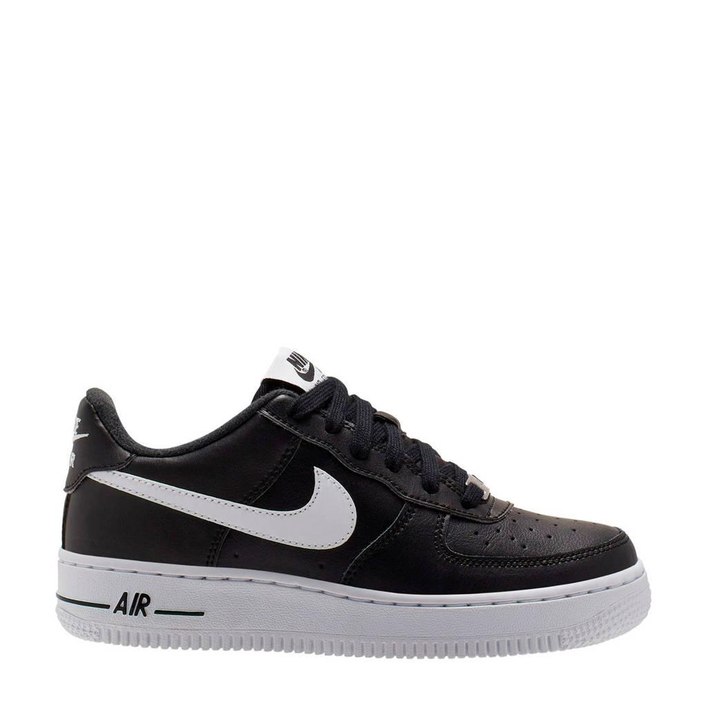 Nike Air Force 1 AN20 gs sneakers zwart/wit, Zwart/wit