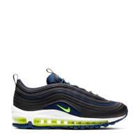 Nike Air Max 97 (GS) sneakers donkerblauw/limegroen, Donkerblauw/limegroen