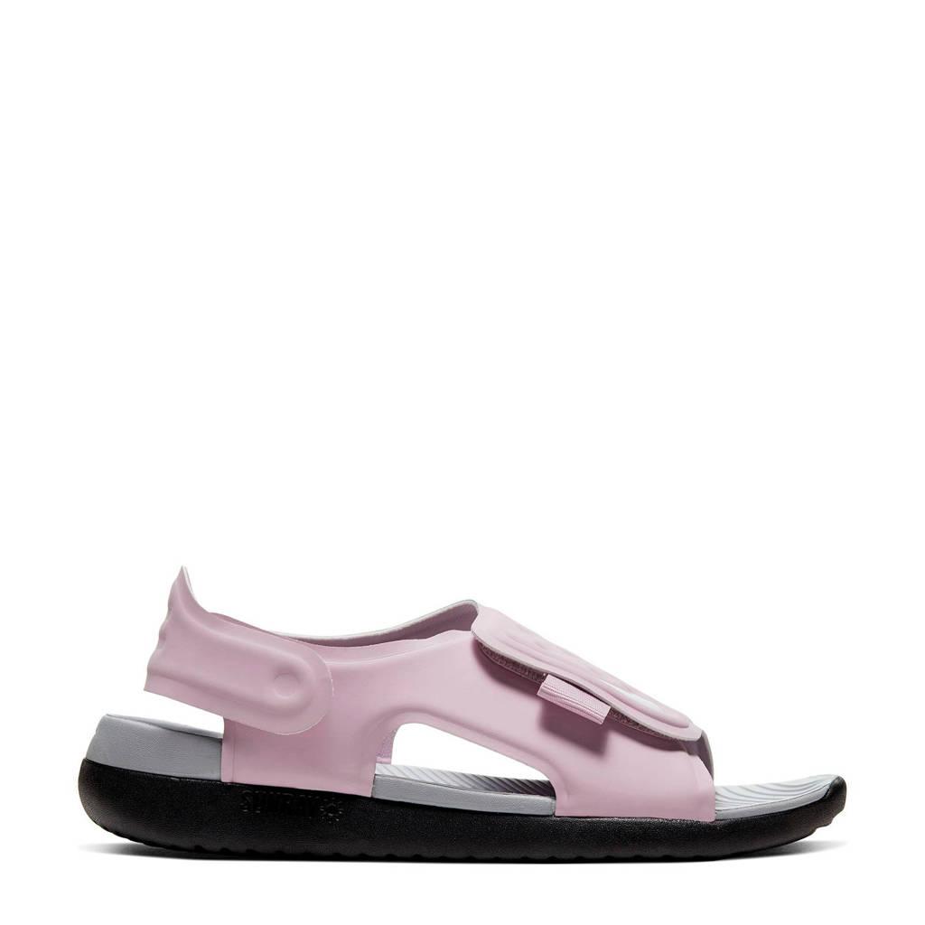 Nike Sunray Adjust 5 (GS/PS) waterschoenen lila kids, Lila/Oudroze