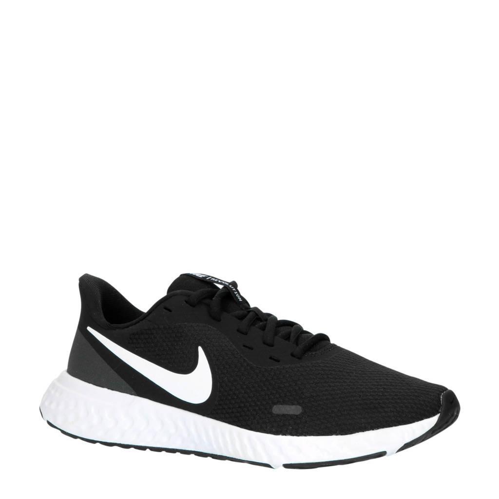 Nike Revolution 5 hardloopschoenen zwart/wit, Zwart/wit