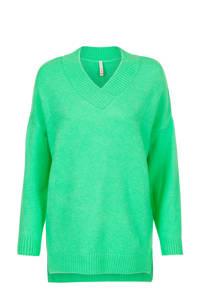 Miss Etam Regulier trui groen, Groen