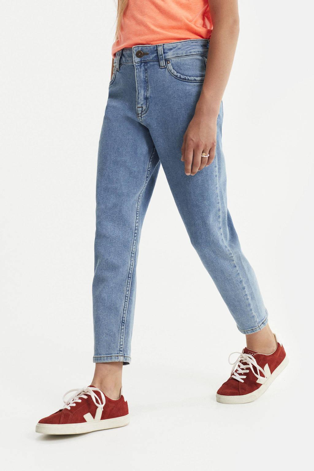 WE Fashion Blue Ridge girlfriend fit jeans light denim, Light denim