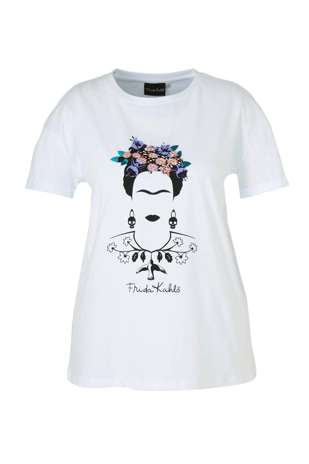 C&A XL Clockhouse T-shirt met printopdruk wit, Wit