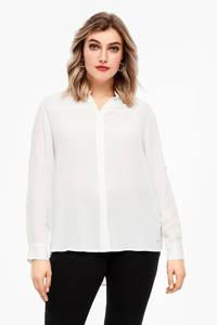 TRIANGLE blouse ecru, Ecru