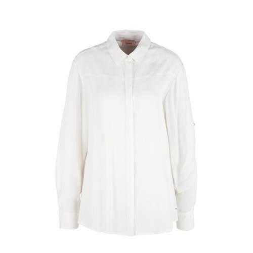 TRIANGLE blouse ecru