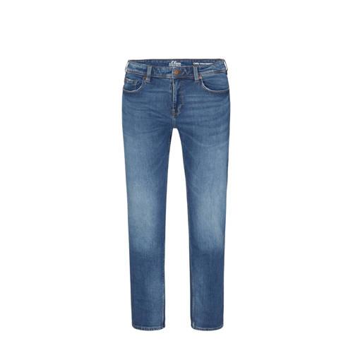 s.Oliver Big Size regular fit jeans blauw Big size