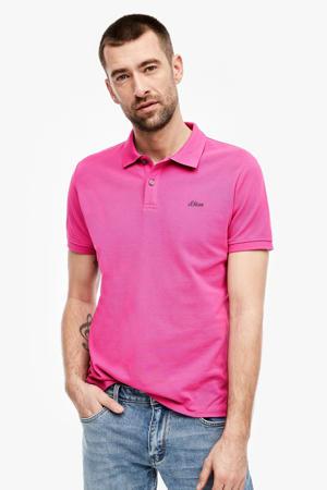 regular fit polo roze