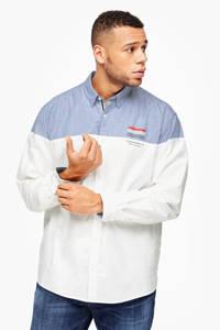 s.Oliver regular fit overhemd wit Big size, Wit