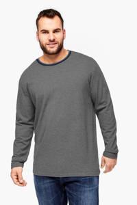 s.Oliver T-shirt antraciet Big size, Antraciet