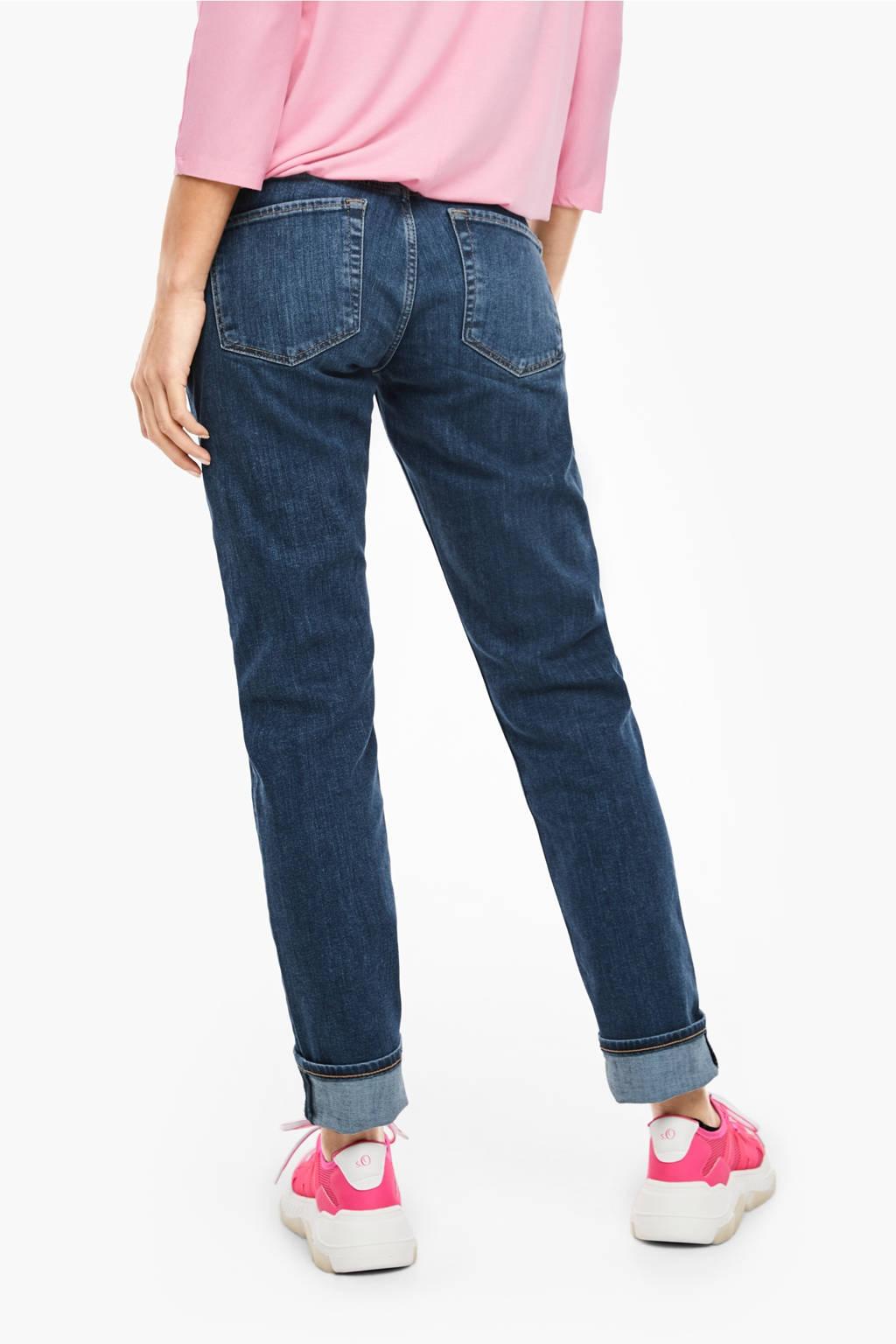 s.Oliver regular fit jeans blauw, Blauw