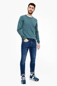 s.Oliver slim fit jeans blauw, Blauw
