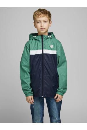 zomerjas Cott donkerblauw/groen