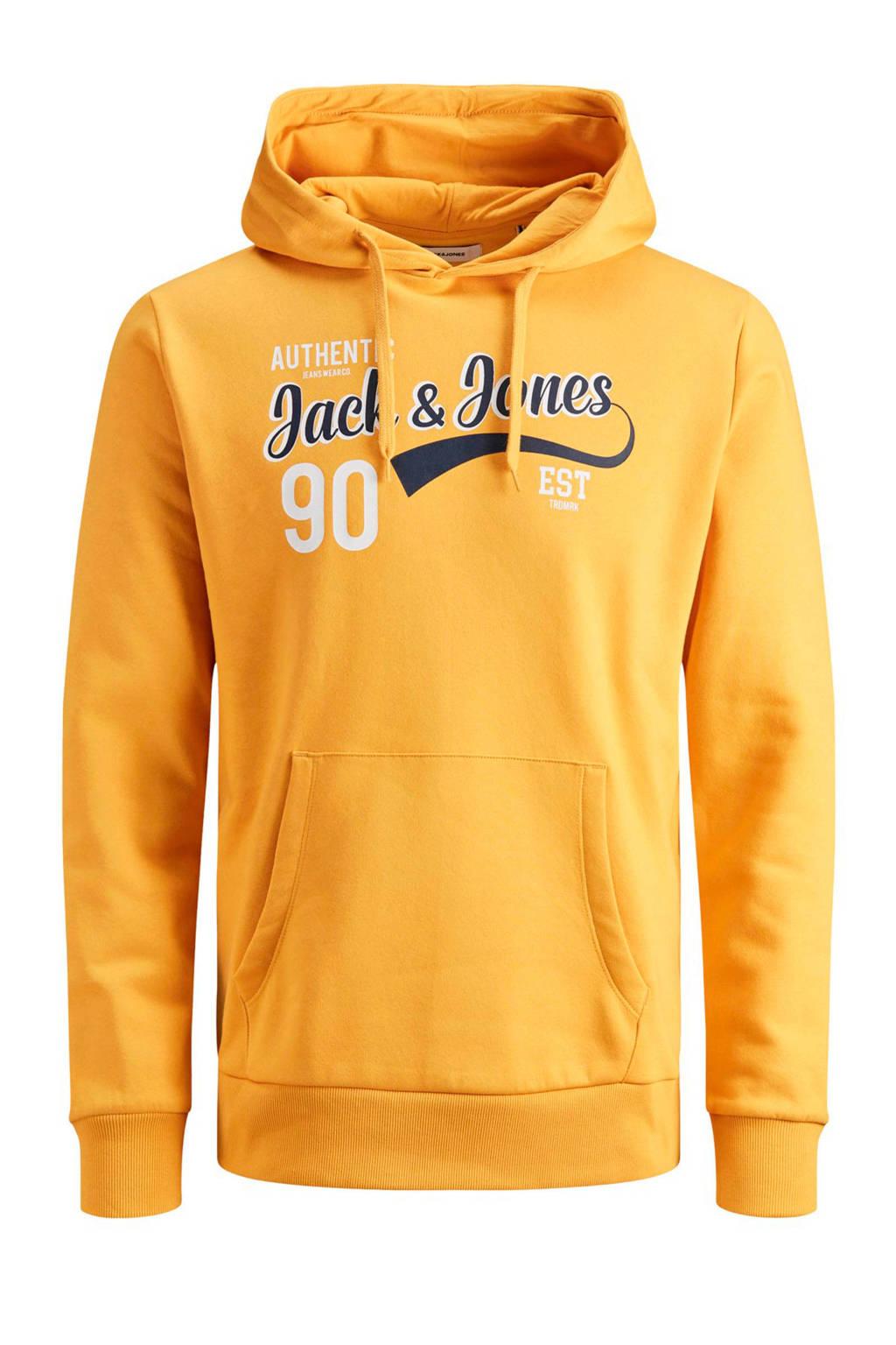 JACK & JONES JUNIOR, Geel/wit